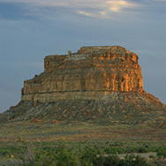 Fajada Butte, Chaco Canyon. Taken by Mark Wuest.