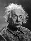 Image of Albert Einstein.